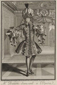 Claude Ballon, one of the most famous danseurs nobles of the early 18th century.