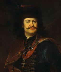 Adám Mányoki. Francis II Rákoczi. 1724