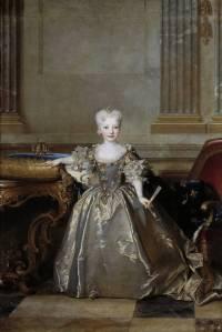 Nicolas Largilliere. The Infanta Mariana Victoria. 1724