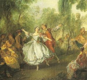 Nicolas Lancret, La Camargo Dancing (c1730)