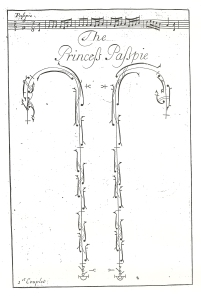 John Essex, The Princess's Passpied, [1715?], first plate