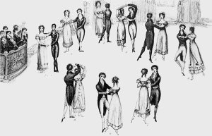 Thomas Wilson. A Description of the Correct Method of Waltzing (1816), frontispiece