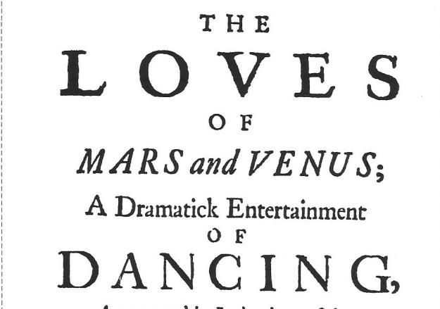 Loves Title Page Detail