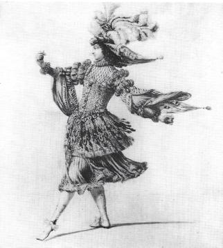 Dame de la Cour (male dancer)