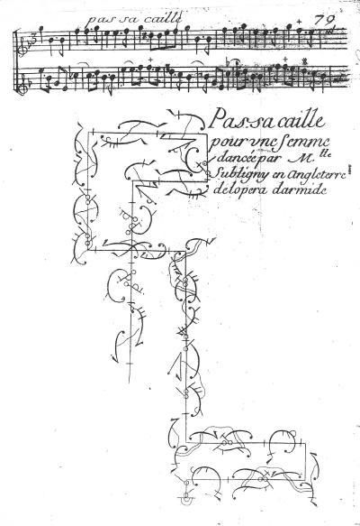 Pecour Passacaille Armide 1