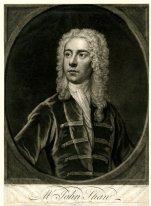 John Shaw, English dancer 1708 – 1725