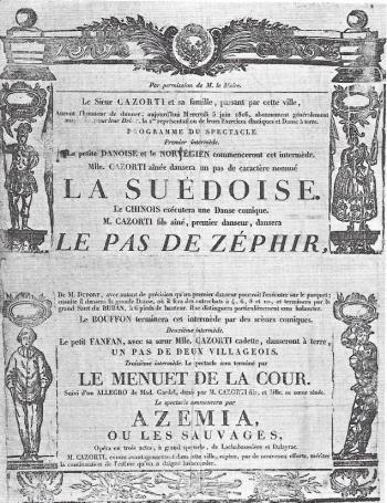 Pas de Zephyr Poster