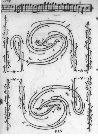 Dezais, La Carignan (1725), last plate.