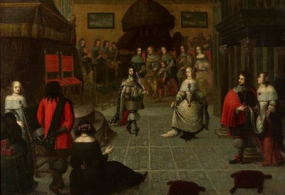 Charles II Dancing
