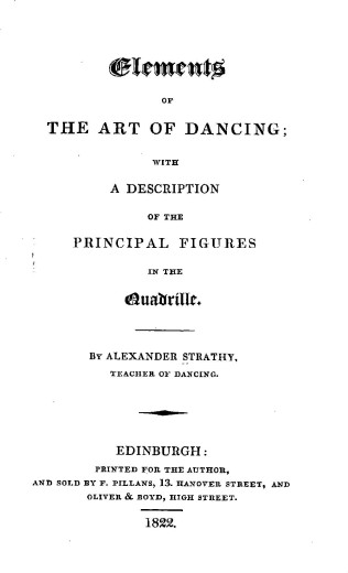 Strathy Elements 1822 Title Page