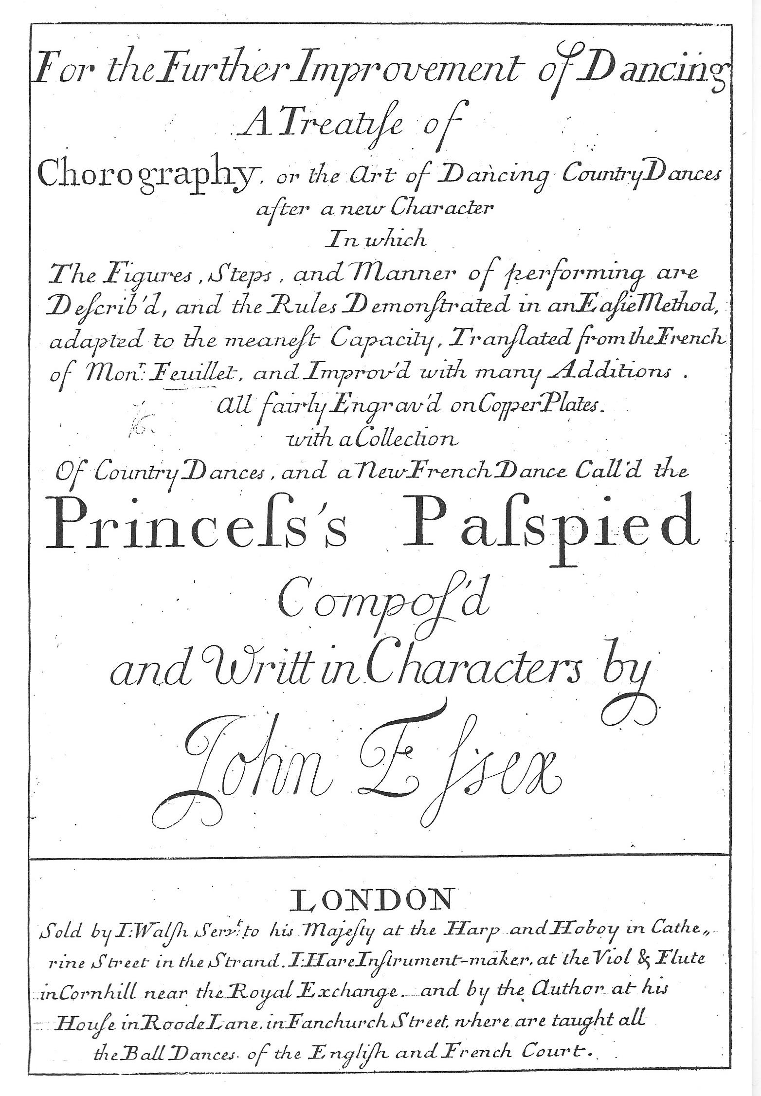 Essex Further Improvement 1715