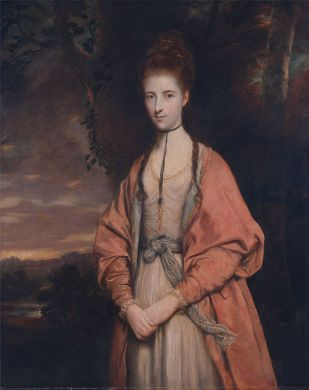 Anne Seymour Damer by Joshua Reynolds