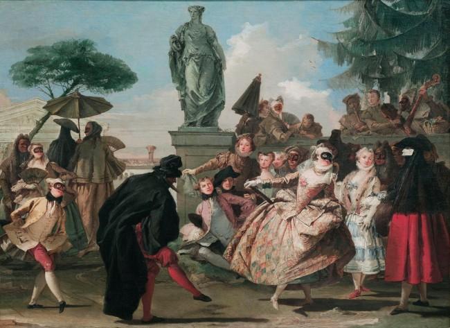 Gian Domenico Tiepolo Grotesque Minuet 1756